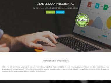 Intelirentas web