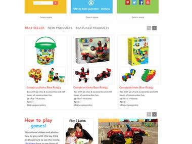 Website for Children toys