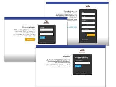 Login Registration Process Design