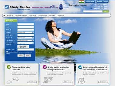 PHP site A1 Study Centre