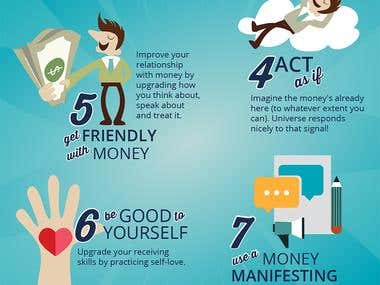 Infographic design for Life Coach