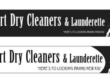 Dry Cleaners Logo