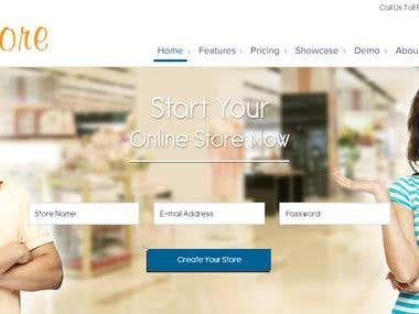 E commerce Builder - http://www.makemystore.co.in/