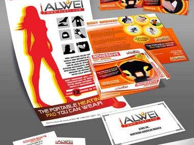 Corporate Identity Design for ALWEI