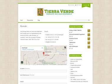 Tierra Verde Shop