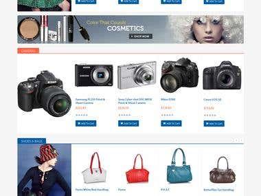 Shopping Store Website