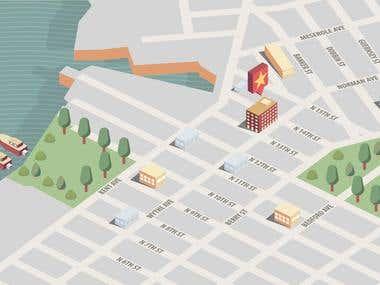 Brooklyn Hotel Map