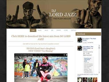 Lord Jazz (Lords of the Underground) Website