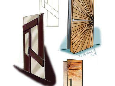 Door Sketches