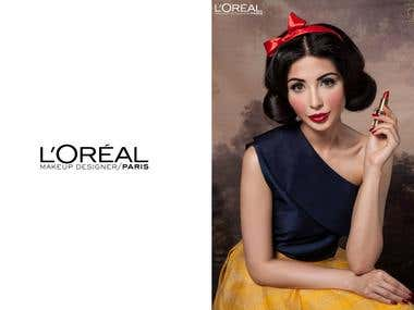 L\'Oréal Shoot