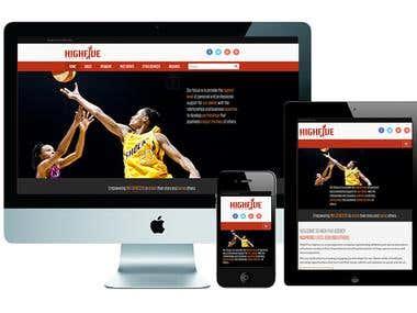 Wordpress Bootstrap Website