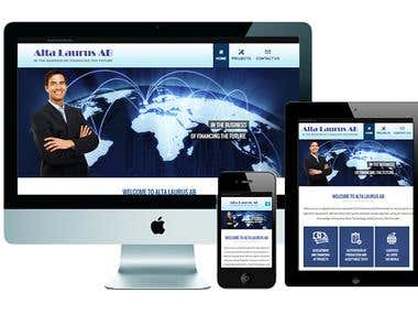 Altalaurus Website Design and Development