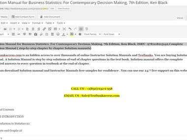 Contain Management - WordPress