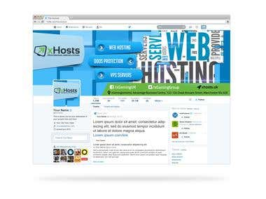 Twitter Cover for xHosts