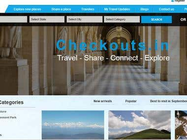 Travel Portal along with hotel booking, Car booking, etc