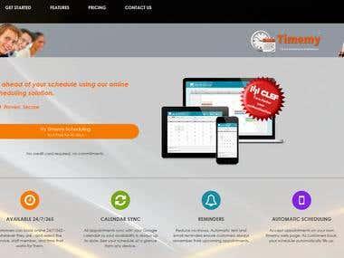 Timemy.com online scheduling