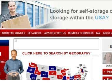 USA based virtual store site