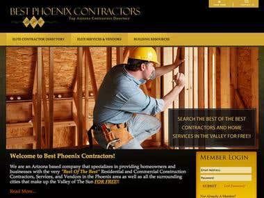 Custom Website Examples