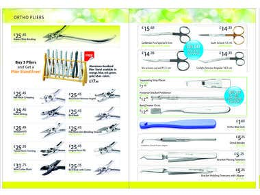 Dental Instrument Cetalog Design