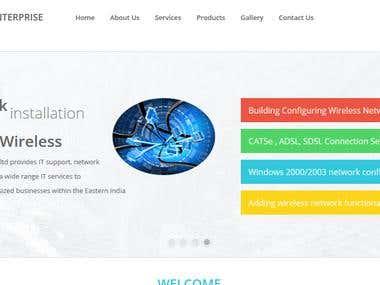Hardware service provider company site