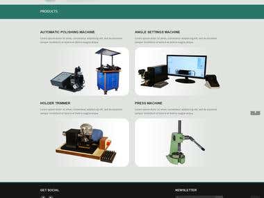 Website - for engineering firm.