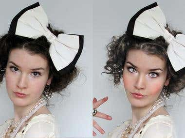 Face retouch 3