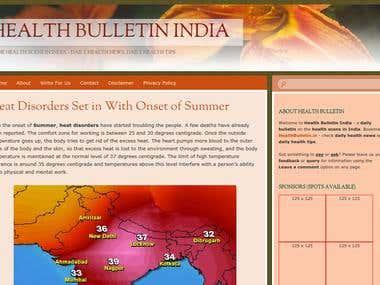 Health Bulletin India