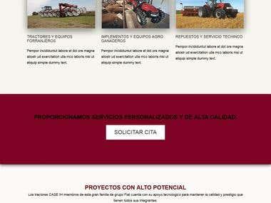 agro website
