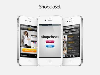 Shocloset iOS App