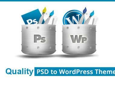 WordPress theme developement and customizaiton.