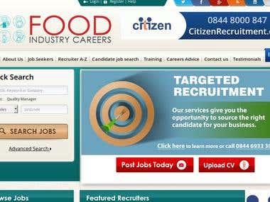 Food Industry Careers