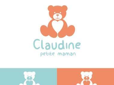 claudine logo