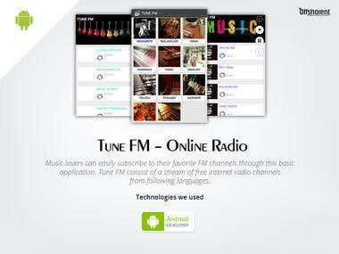 Tune FM - Online radio