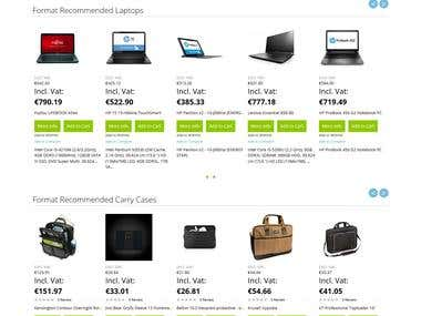 Electronics Ecommerce store in Magento