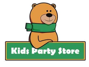 Kids Party Logo