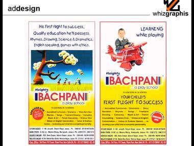 Newspaper and Magazine Ad