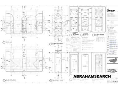 Architectural master plans.