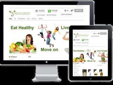 WordPress Ecommerce Store 01