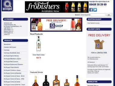 In the Spirit Shop Website