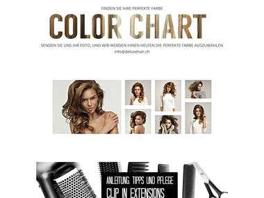 Magento Ecommerce site for Hair Products