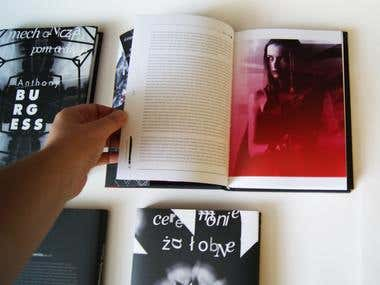 publishing series layout design