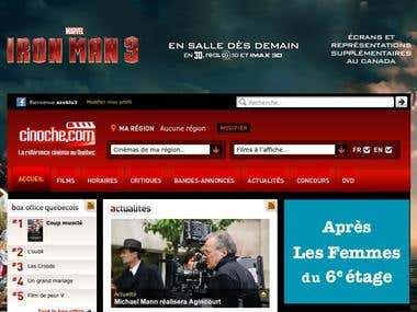 Cinema Website