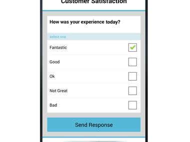 Customer Survey APP