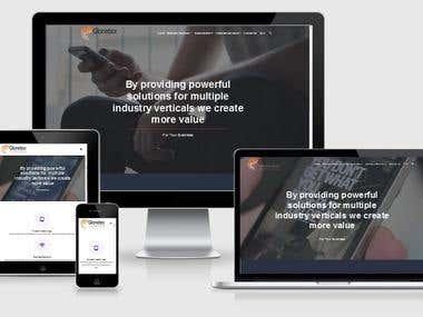 Wocommerce Web store + Company website(GloneTex)