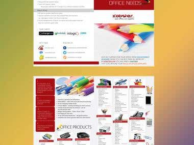 Brochure - Stationery Products