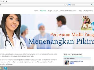 Private Medical Insurance Website