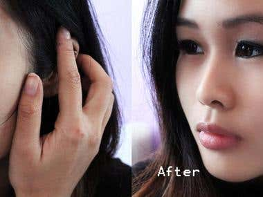 Skin Retouched!