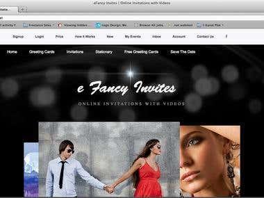 eFancy Website Development