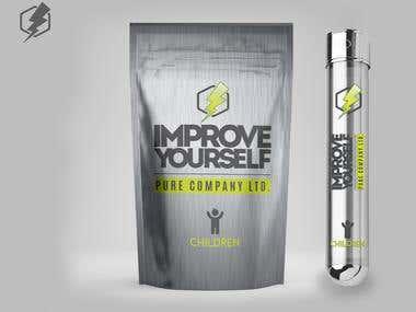 Award Winning Logo + Packaging Design for Supplements