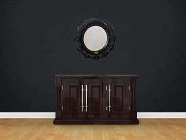 Cabinet render